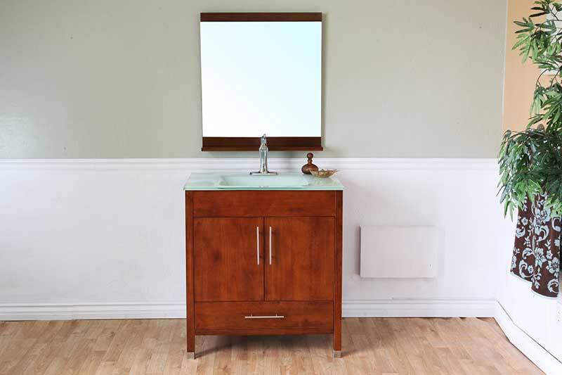 "Bellaterra Home Ewing 32.3"" Single Vanity Set 12"