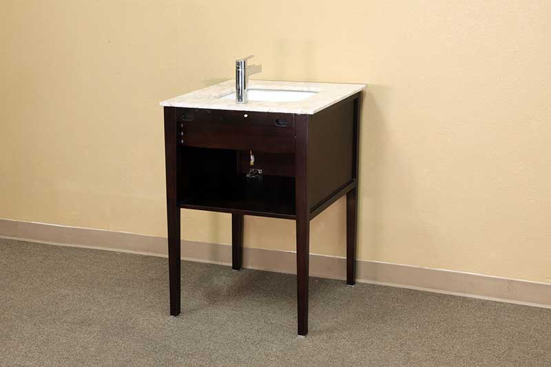 "Bellaterra Home Kirkwood 26"" Single Vanity Set 3"