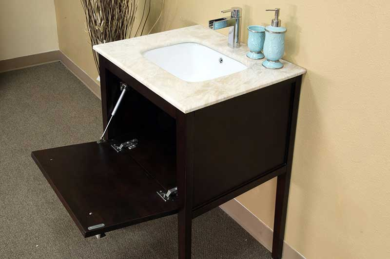 "Bellaterra Home Kirkwood 26"" Single Vanity Set 4"