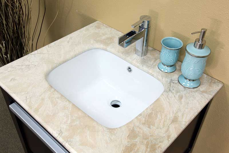 "Bellaterra Home Kirkwood 26"" Single Vanity Set 5"