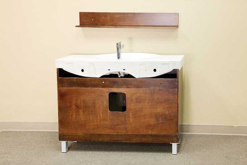 "Bellaterra Home Stoddard 48"" Single Vanity Set 4"