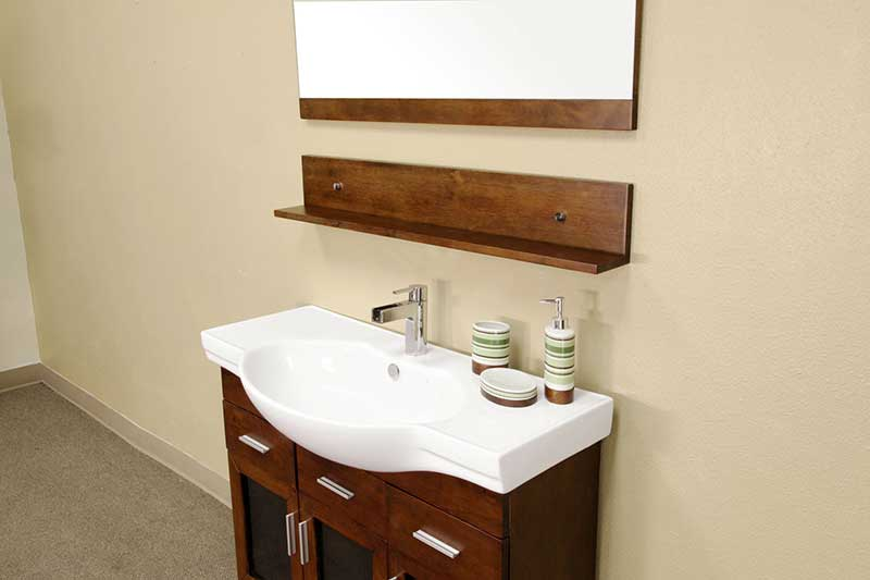 "Bellaterra Home Crenshaw 39.8"" Single Vanity Set 3"
