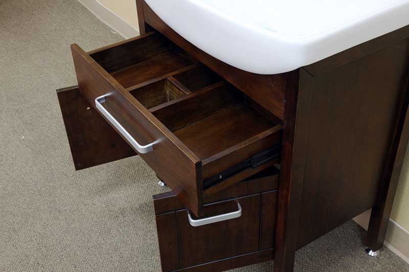 "Bellaterra Home Preston 29.9"" Single Vanity Set 3"
