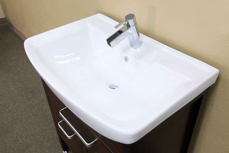 "Bellaterra Home Preston 29.9"" Single Vanity Set 5"