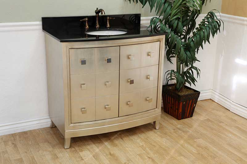 "Bellaterra Home Howe 36"" Single Vanity Set 3"