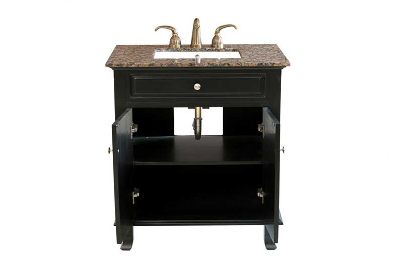 "Bellaterra Home Dorchester 32"" Single Vanity Set 2"