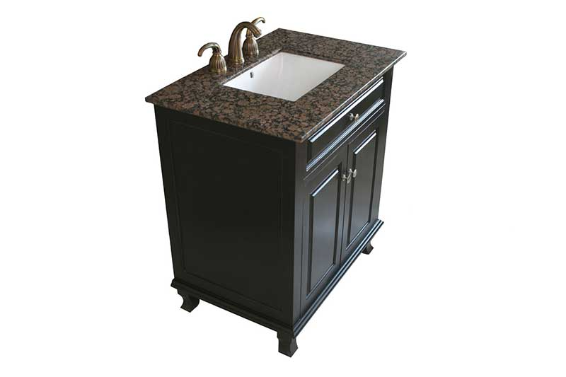"Bellaterra Home Dorchester 32"" Single Vanity Set 4"
