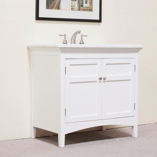 "Legion Furniture Woodbridge 38"" Single Sink Vanity Set"