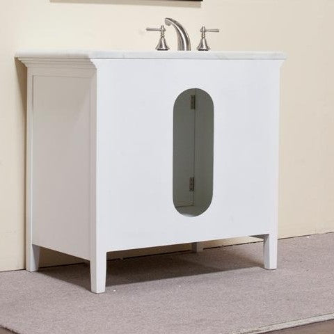 "Legion Furniture Woodbridge 38"" Single Sink Vanity Set 3"