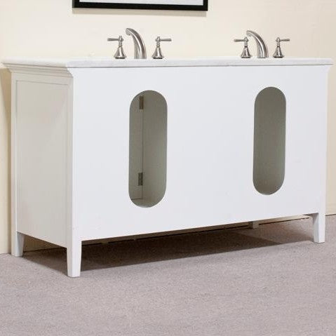 "Legion Furniture 60"" Woodbridge Double Sink Vanity Set 3"