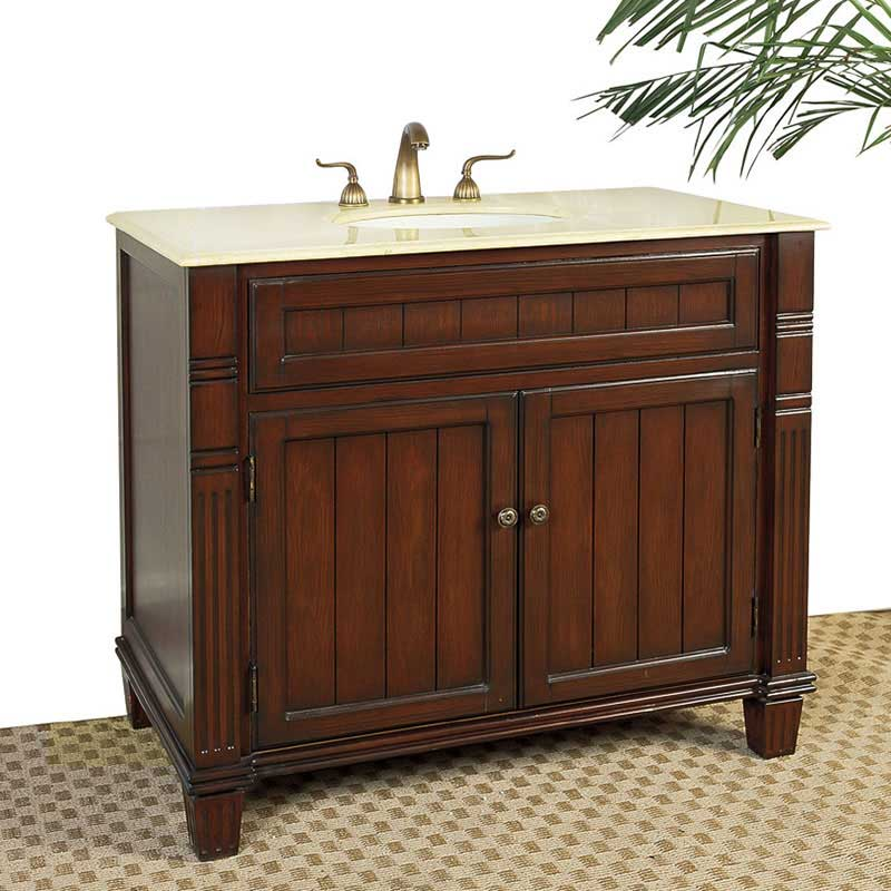 "Legion Furniture 39"" Newport Sink Chest Vanity Set"