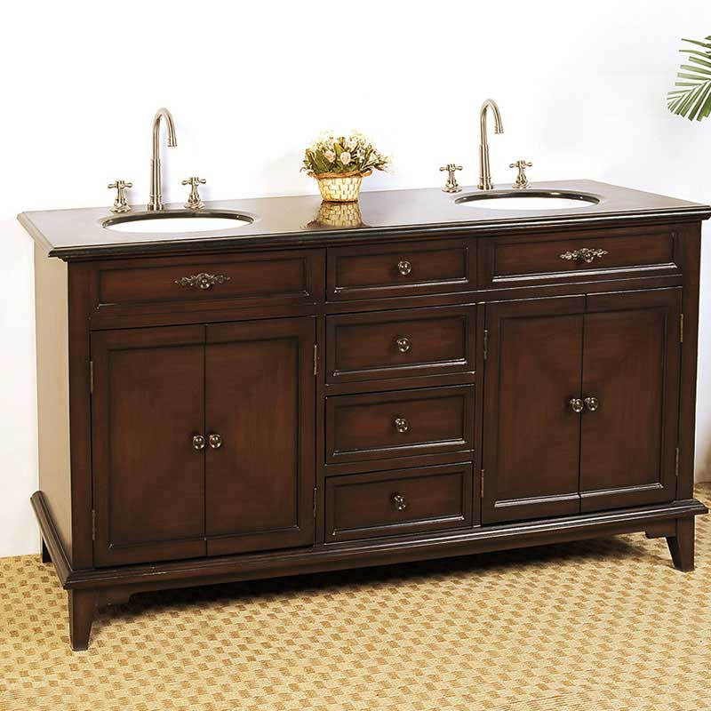 "Legion Furniture 69"" Hatherleigh Sink Chest Vanity Set"