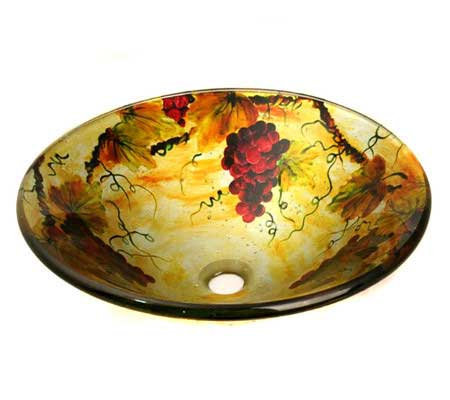 Legion Furniture Bountiful Vessel Bathroom Sink
