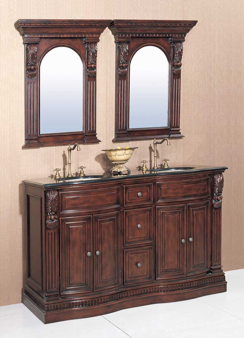 "Legion Furniture 60"" Willhelm Vanity Set"