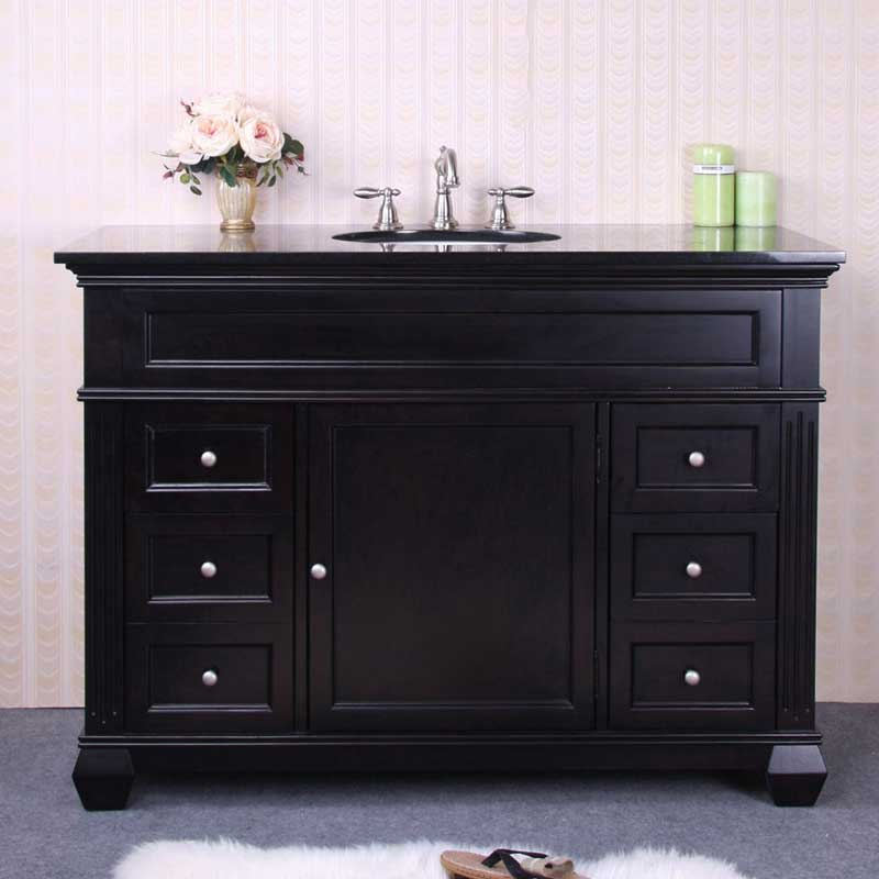"Legion Furniture 48"" Single Bathroom Vanity Set with 4 Drawer"