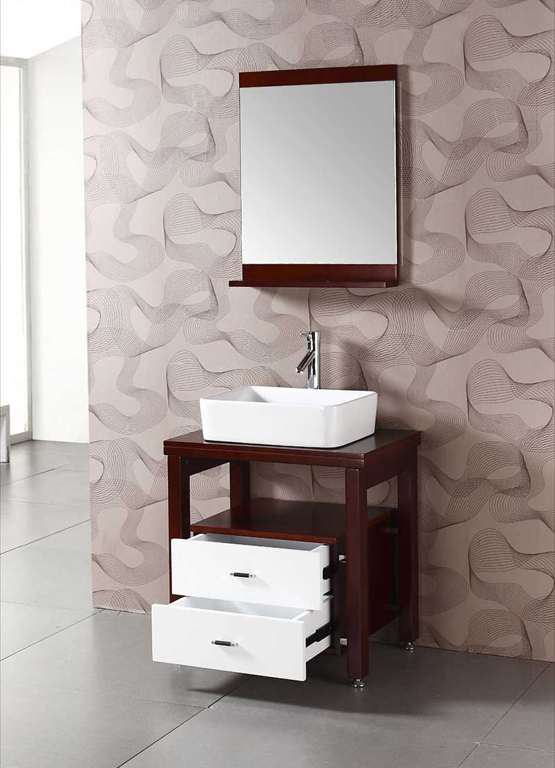 "Legion Furniture 26.5"" Single Bathroom Vanity Set 2"