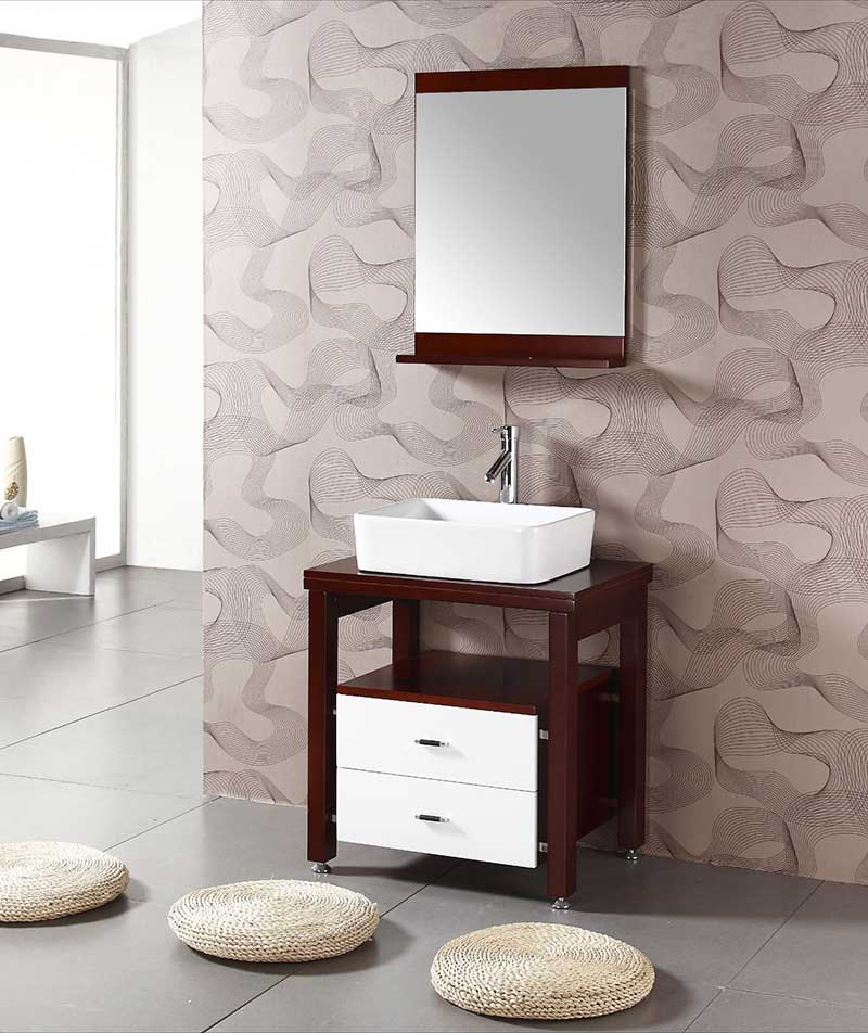 "Legion Furniture 26.5"" Single Bathroom Vanity Set 3"