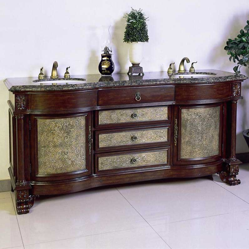 "Legion Furniture 72"" Chest Vanity Set"