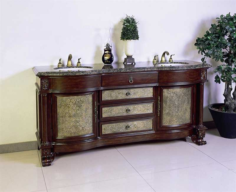 "Legion Furniture 72"" Chest Vanity Set 2"