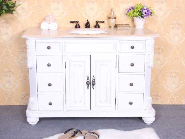 "Legion Furniture 48"" Single Sink Vanity Base 2"