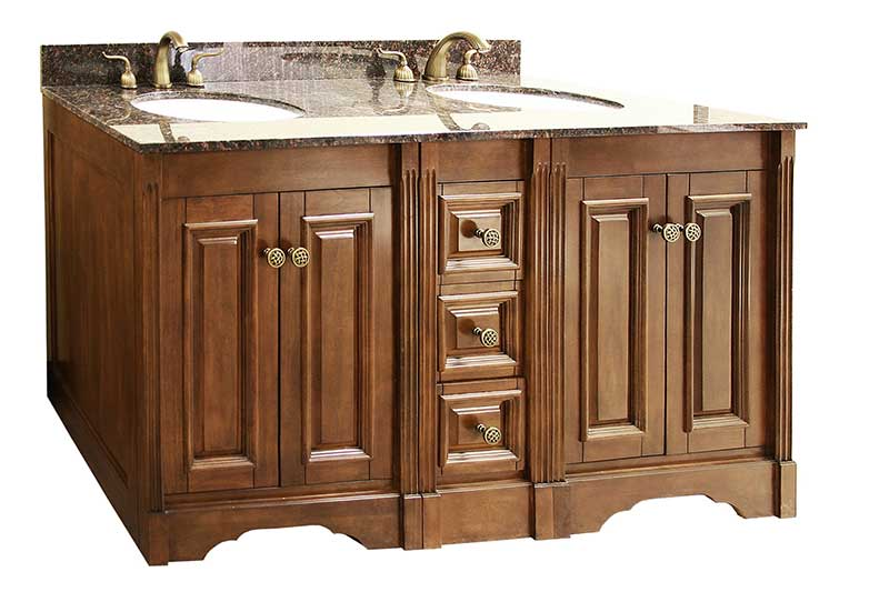 "Legion Furniture 61"" Double Sink Vanity Set with Soft Close Doors 3"