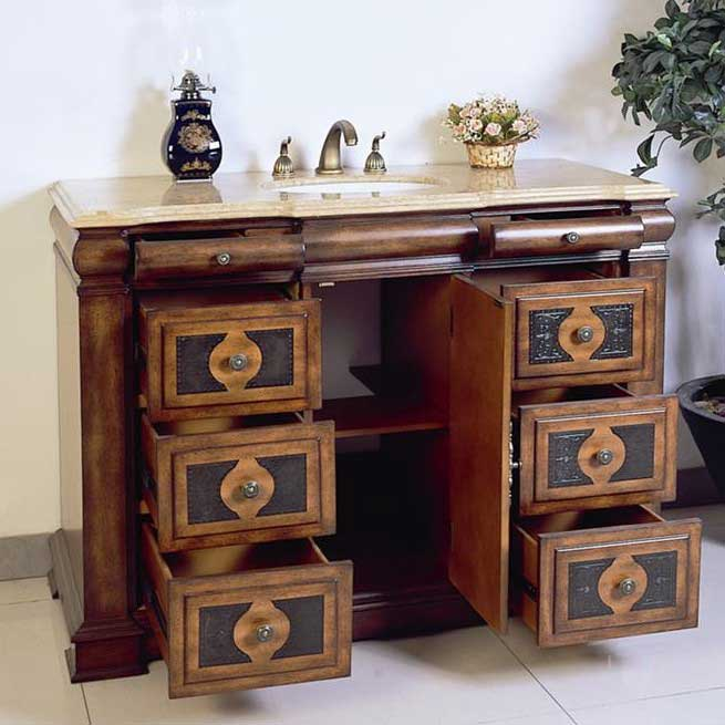 "Legion Furniture 48"" Chest Vanity Set 2"