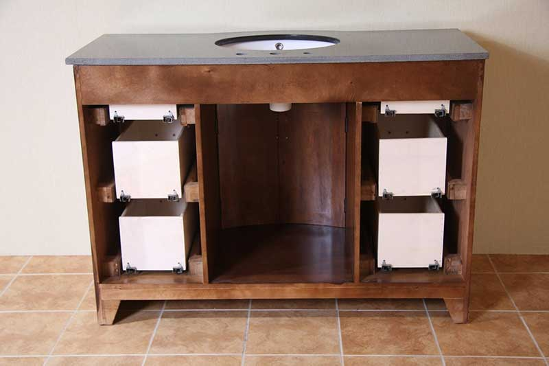 "Legion Furniture 48"" Vanity Base 7"
