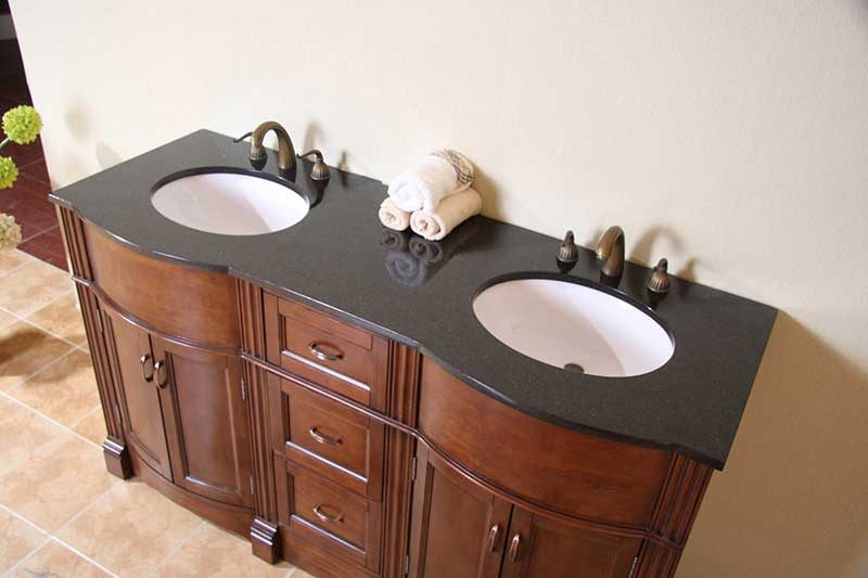 "Legion Furniture 61"" Vanity Top 4"