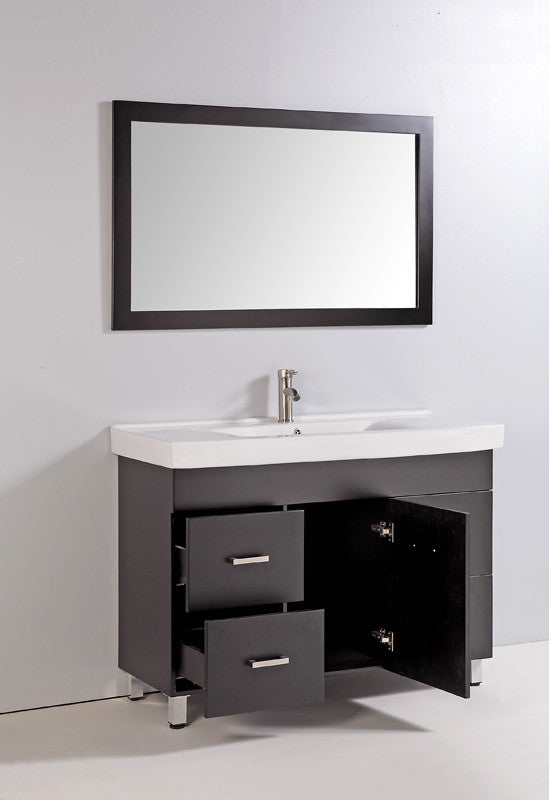 "Legion Furniture 48"" Bathroom Vanity Set with Mirror 2"