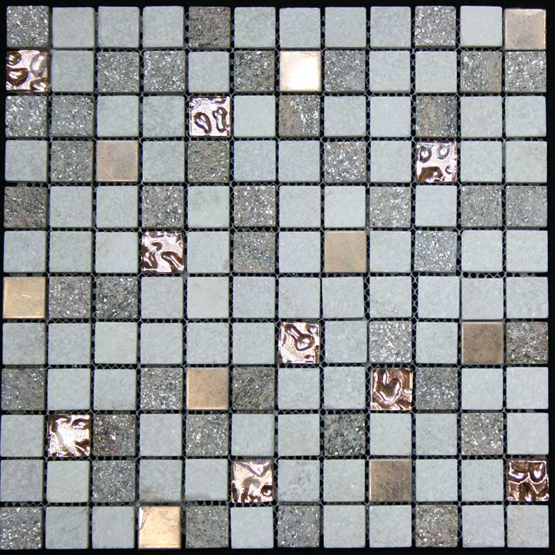 "Legion Furniture 1"" x 1"" Mix Tile"