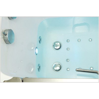Ella's Bubbles 9305 Deluxe Acrylic Dual Massage Walk-In Tub 17