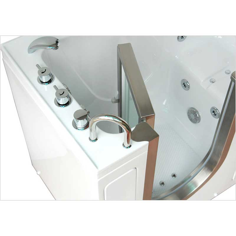 Ella's Bubbles 9305 Deluxe Acrylic Dual Massage Walk-In Tub 20