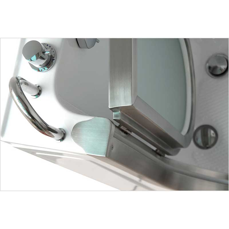 Ella's Bubbles 9305 Deluxe Acrylic Dual Massage Walk-In Tub 18