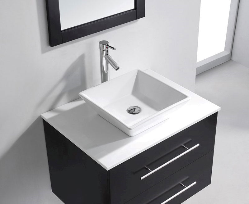Virtu USA Marsala 29 Single Bathroom Vanity Set in Espresso 4