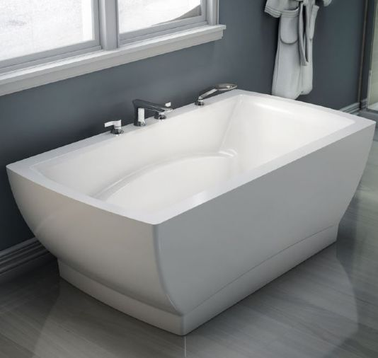"Neptune Believe 3666F Freestanding Soaker Tub - 64-7/8"" L x 35"" W x 24"" H - BE3666F"