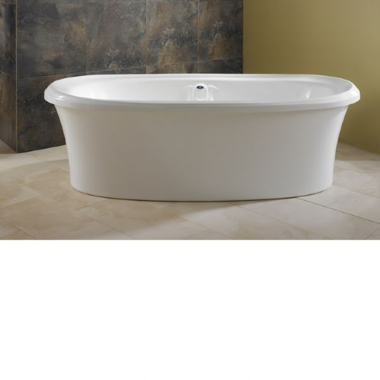 "Neptune Zircon Freestanding Mass-air Tub - 71-1/2"" L x 37-7/8"" W x 22-5/8"" H - ZI72M"