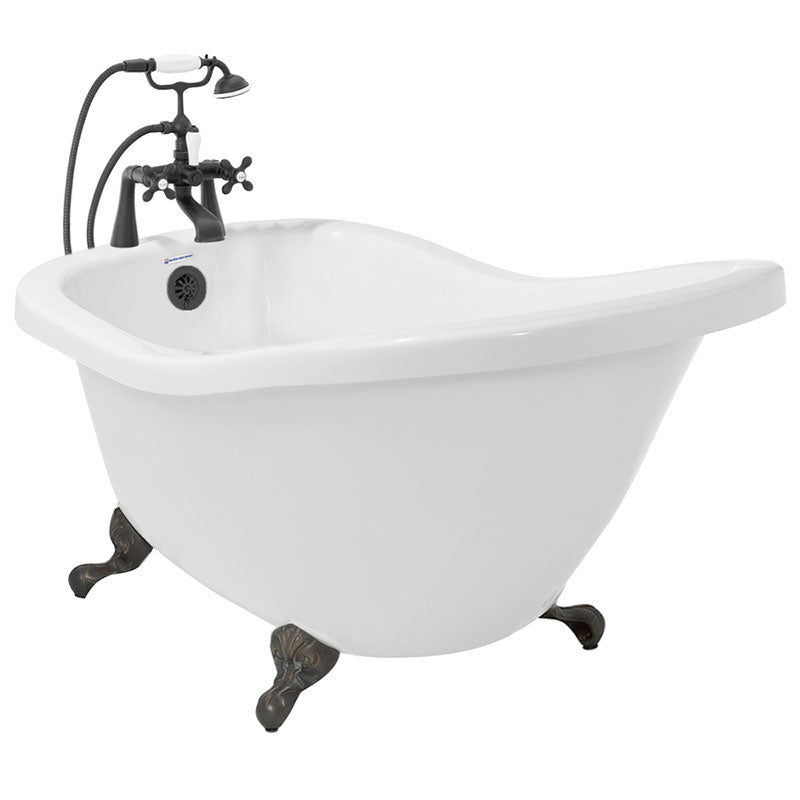 "American Bath Factory Chelsea 59"" White Acrylic Package"