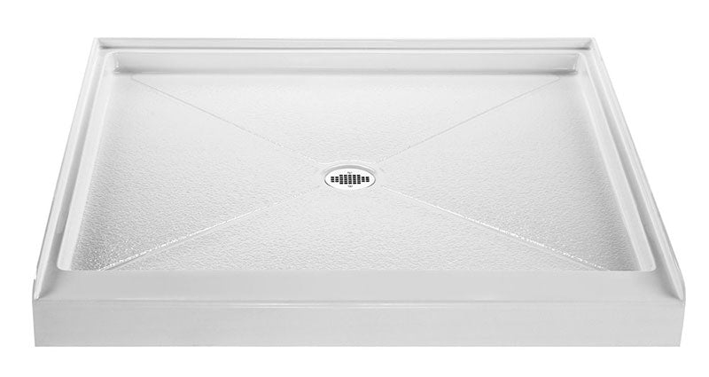 Reliance 36x36 Shower Base with Center Drain White (R3636CD-W)