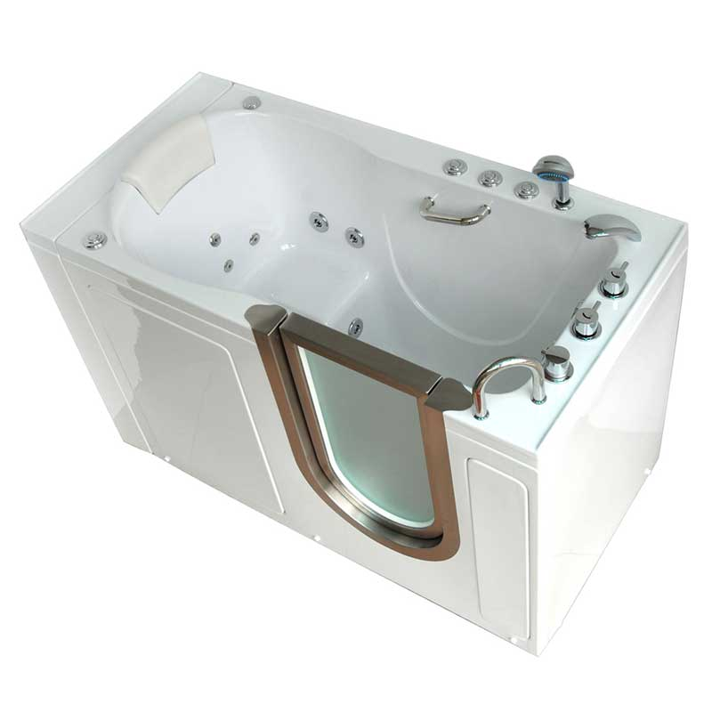 Ella's Bubbles 9305 Deluxe Acrylic Dual Massage Walk-In Tub 6