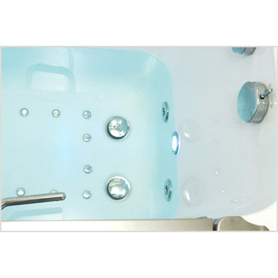 Ella's Bubbles 9305 Deluxe Acrylic Dual Massage Walk-In Tub 7