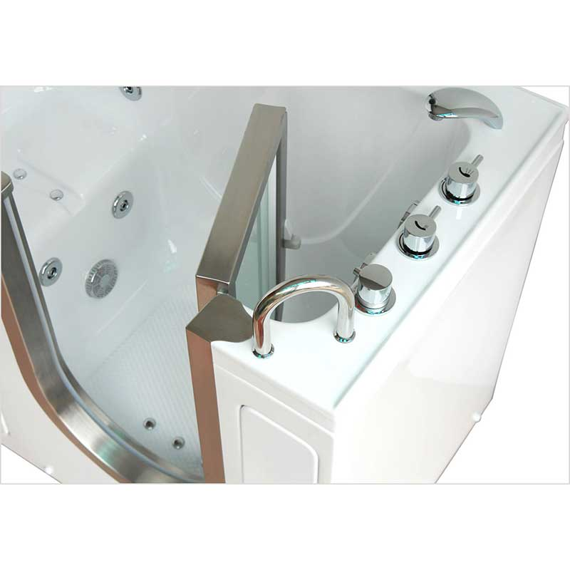 Ella's Bubbles 9305 Deluxe Acrylic Dual Massage Walk-In Tub 10