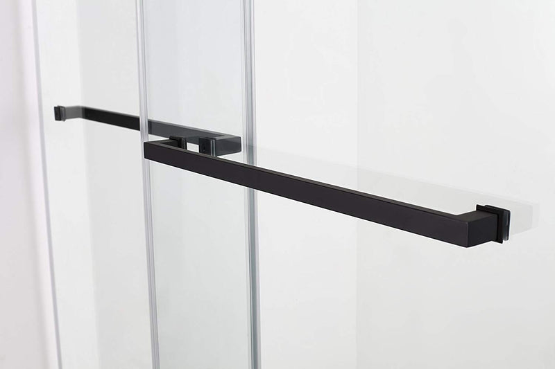 Aston Rivage 44 in. to 48 in. x 76 in. Frameless Double-Bypass Sliding Shower Door in Oil Rubbed Bronze 4