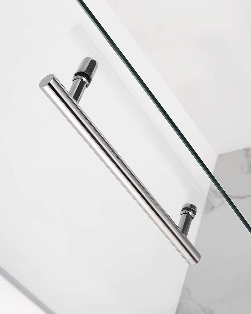 Aston Coraline 56 in. to 60 in. x 33.875 in. x 76 in. Frameless Sliding Shower Enclosure in Oil Rubbed Bronze 5