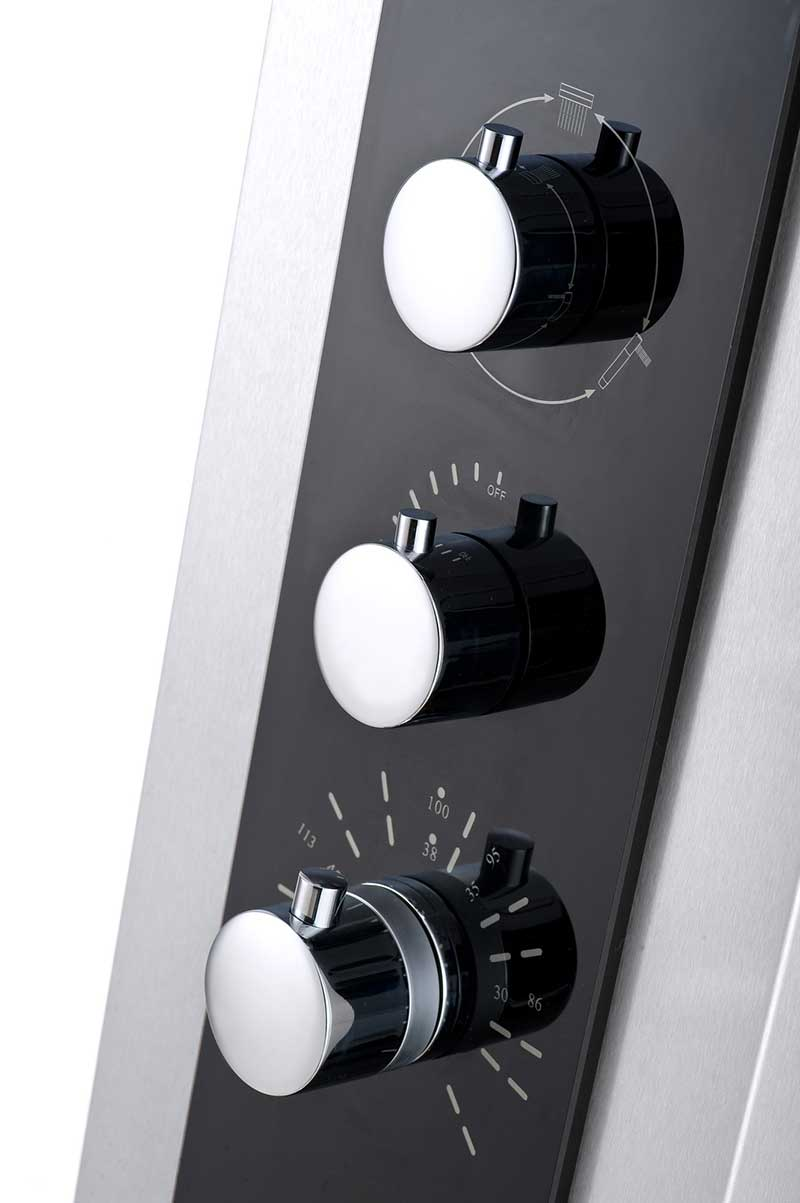 Aston Dual Function and Diveter Shower Panel with Four Body Jets 3