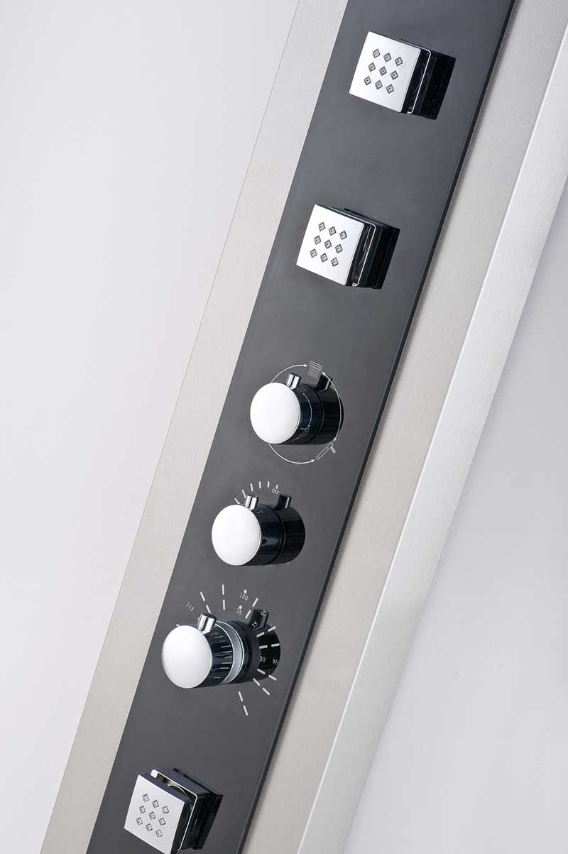 Aston Dual Function and Diveter Shower Panel with Four Body Jets 4