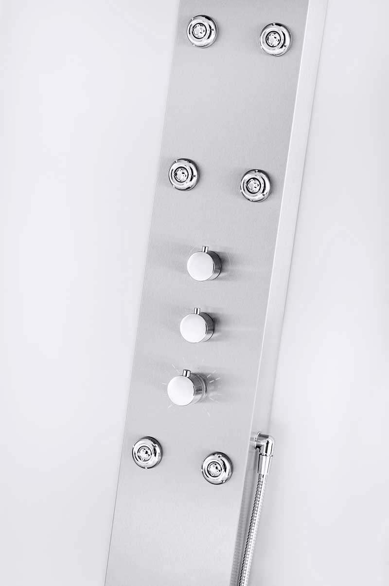 Aston Dual Function and Diveter Shower Panel with Six Body Jets 2