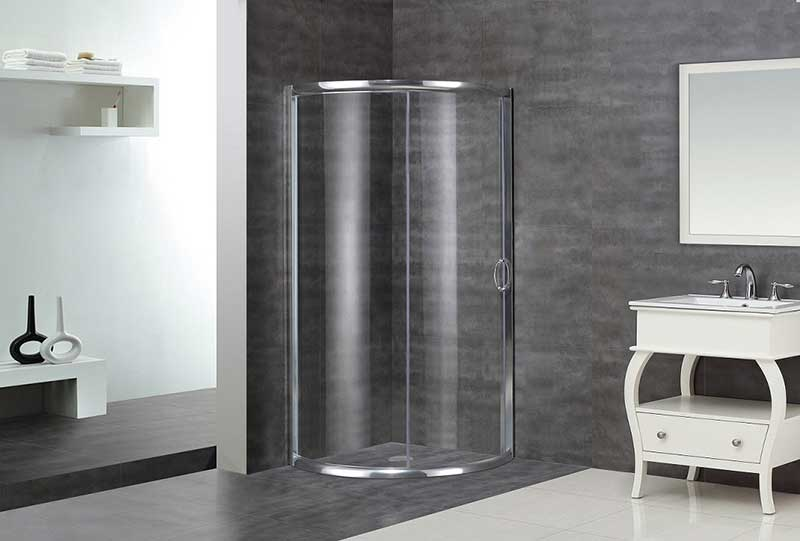 Aston Neo-Angle Door Shower Enclosure with Shower Base