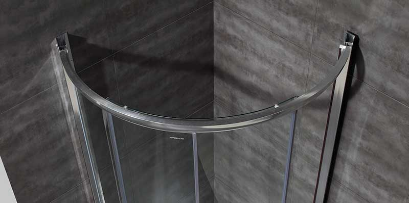 Aston Round Sliding Shower Door Enclosure 3