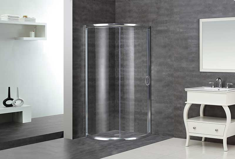 Aston Round Sliding Shower Door Enclosure 5
