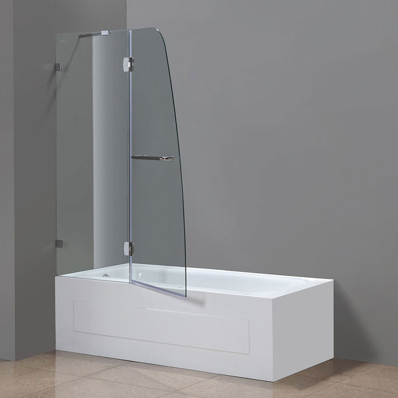 Aston Frameless Pivot Tub-Height Shower Door 3